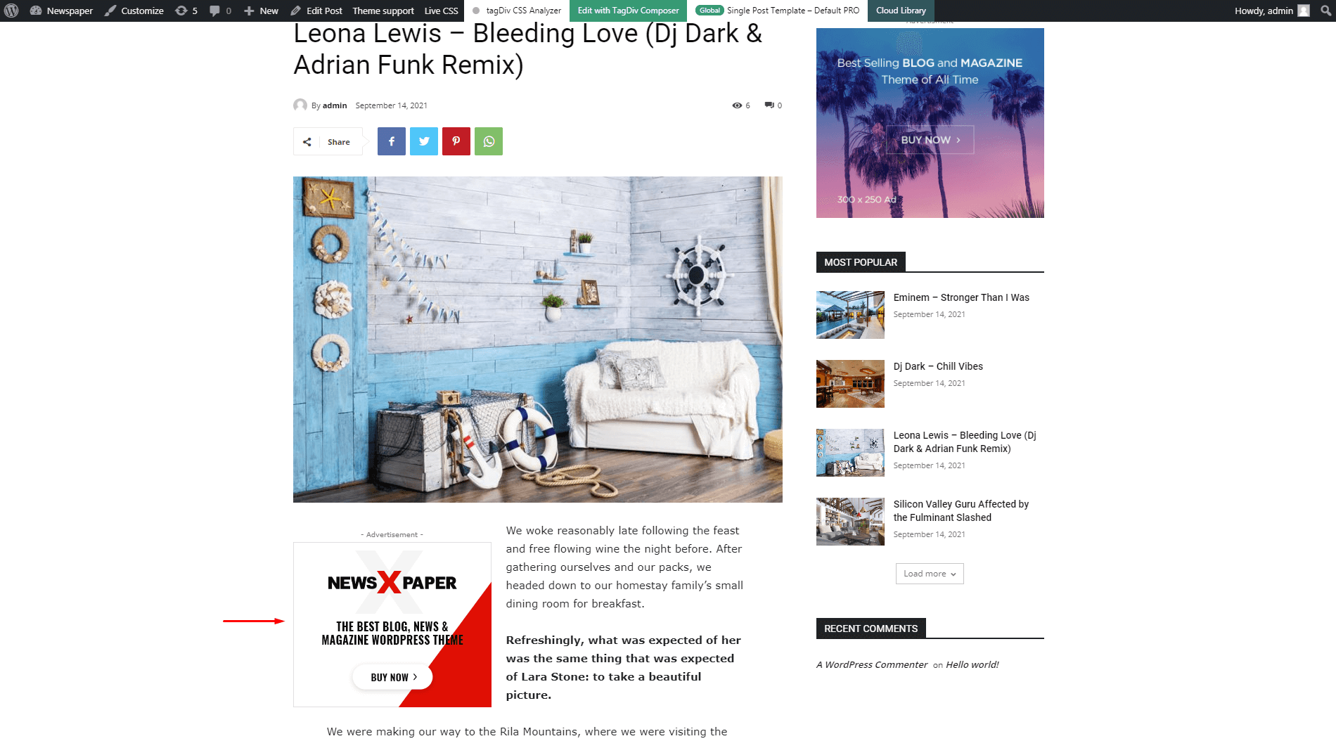 Article Inline Ad - preview