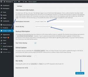 Envato Toolkit Update Theme