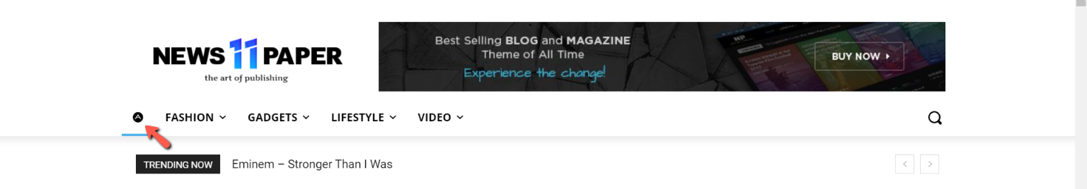 How to add bullet icons in your WordPress site menu