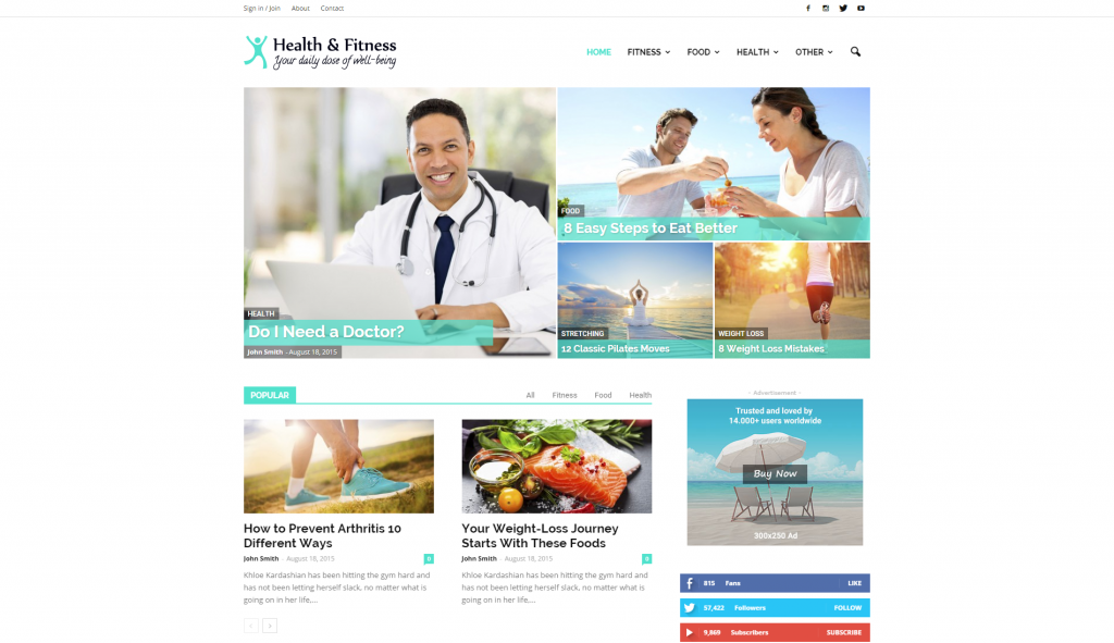 demo-health-and-fitness
