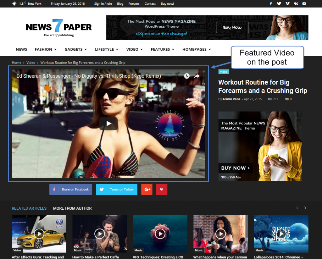 newspaper-featured-video-on-single