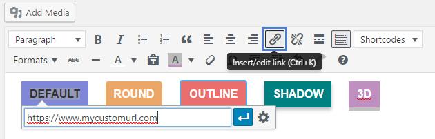 Newspaper Theme - custom buttons
