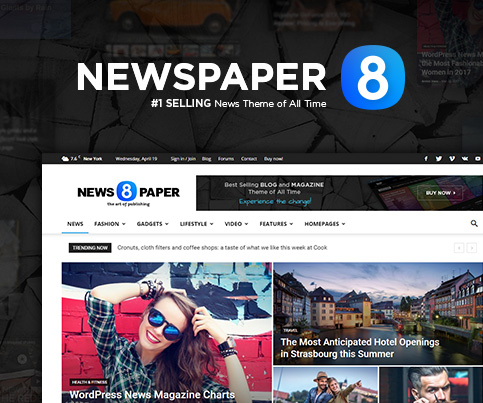 Documentation welcome to newspaper wordpress theme now its so easy to make each website unique just capture the perfect combination of pages post and categories layouts with newspaper pronofoot35fo Image collections
