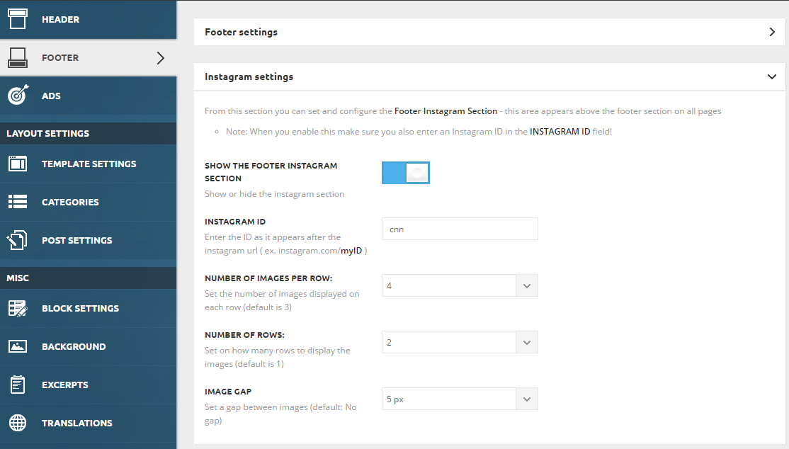 td_newsmag_instagram_footer_settings