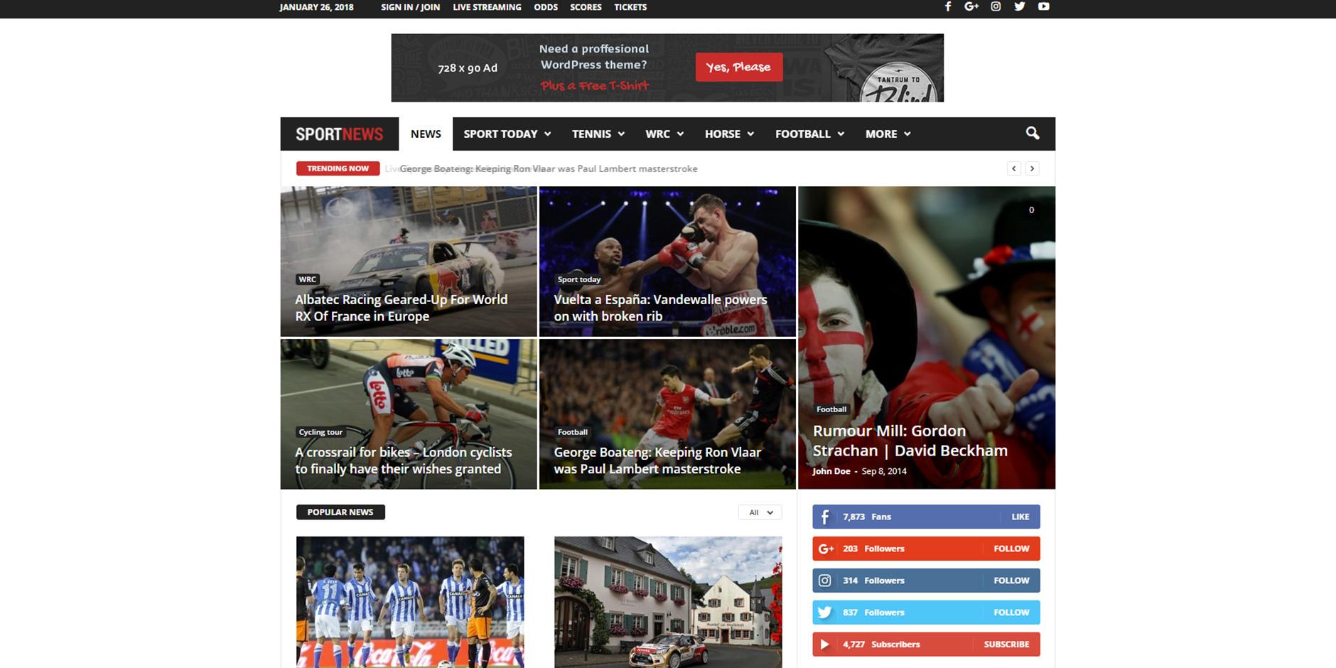 Newsmag_Sport_News_Demo