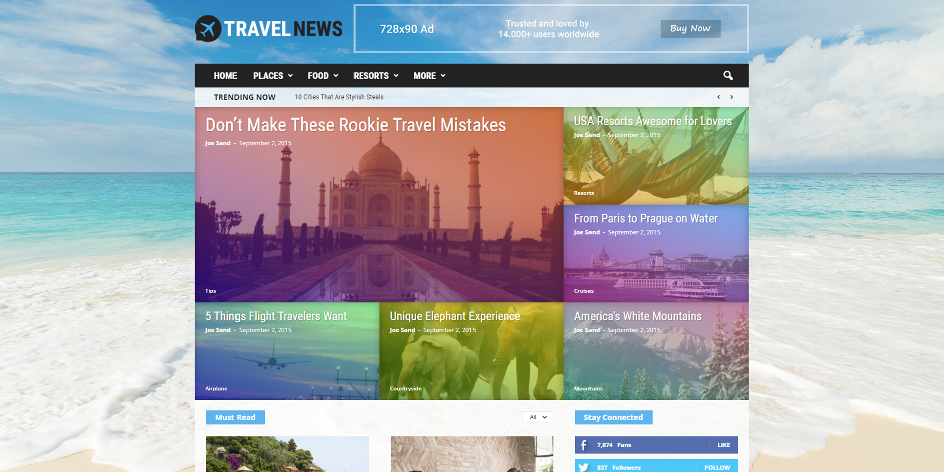 Newsmag_Travel_News_Demo